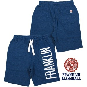 【SALE】30%OFF★FRANKLIN&MARSHALL/フランクリンマーシャルPANTS FLEECE CLASSIC SHORTMen's classic fit Bermuda...