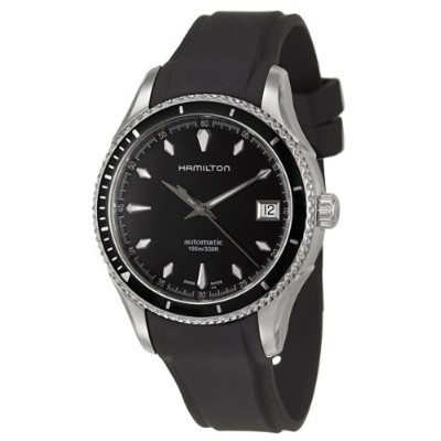 ハミルトン レディース 腕時計 Hamilton Women's H37415331 Seaview Black Dial Watch