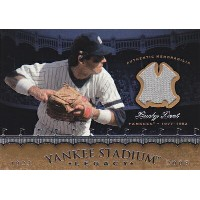 MLBカード【バッキー デント】2008 UD Yankees Stadium Legacy Collection Memorabilia(Bucky Dent)