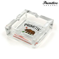 【PRIMITIVE】CULTIVATED ASHTRAY カラー:clear 【プリミティブ】【スケートボード】【小物/灰皿】