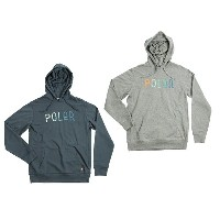 POLER ポーラー パーカー FURRY FONT PULLOVER HOODIE