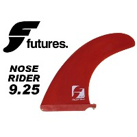 FUTURES フィンNOSERIDER 9.25 RED 【フューチャー フィン】【サーフィン サーフボード FIN】【日本正規品】【あす楽】715005