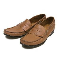 【GENTILE】 デッキ ローファー DECK LOAFER GE2016 F14 TAN