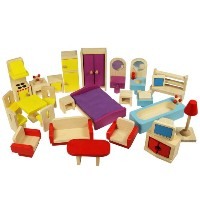 Bigjigs Heritage Playset Dolls House プレイセット ドールハウス Furniture