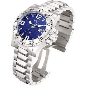 インビクタ 時計 インヴィクタ メンズ 腕時計 Invicta Mens Signature Reserve Excursion Bracelet Watch Blue Dial 7263 -...