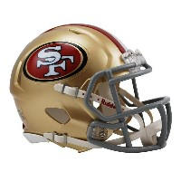 NFL 49ers ミニヘルメット リデル/Riddell Mini Replica Helmet SPEED