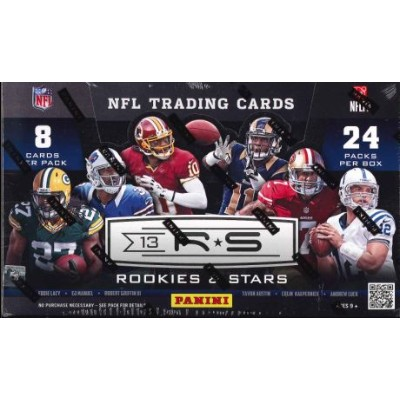 ■セール■NFL 2013 PANINI ROOKIES & STARS FOOTBALL BOX