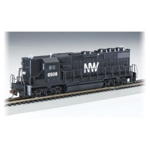 Bachmann HO Scale Train Diesel GP50 DCC Equipped Norfolk & Western - 60442