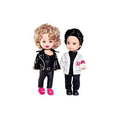 """Barbie 4"""" Grease Kelly Doll and Tommy Gift Set - Pink Label Collection"""