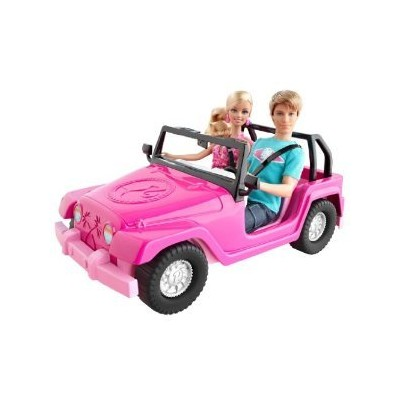 Toy / Game Imaginative Barbie バービー and Ken Sporty Beach fun Cruiser (V0834) - Perfect to add t