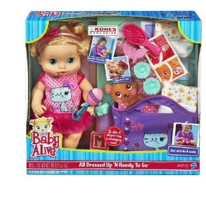 Baby Alive (ベビーアライブ) All Dressed Up N Ready To Go Doll Gift Set (ギフトセット) by Hasbro ド