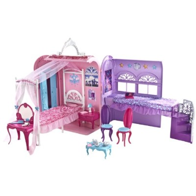 バービーBarbie The Princess and The Popstar Princess Playset   X3706