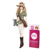 Barbie Collector Dolls of The World Australia Doll