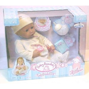 ZAPF INTERACTIVE BABY ANNABELL DOLL 人形 ドール