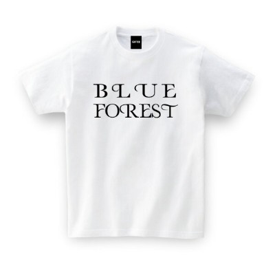 BLUE FOREST TEE【青森県】ご当地 Tシャツ おもしろTシャツ メッセージtシャツ 誕生日プレゼント 女性 男性 女友達 おもしろ プレゼント ギフト GIFTEE