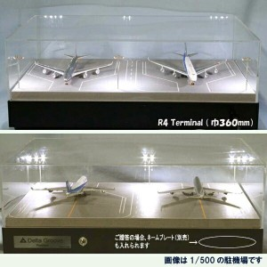 Roteiro空港模型【駐機場】(1/500スケール)DeltaGroove R4-01S(Terminal)