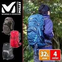 【25%OFFセール】ミレー MILLET!バックパック 登山用リュック リュックサック 【HIKING/ハイキング】 [AERIAL 32] mis1861u メンズ ギフト レディース ...