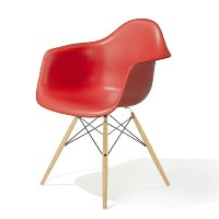 HM_EU8-01 Herman Miller ハーマンミラーEames Shell Chairs イームズ アームシェルチェアDAW/レッド/メープル DAW.BK.UL.ZE.E8【送料無料】...