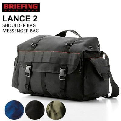 【BRIEFING ブリーフィング】【送料無料!】ランス2 ショルダーバッグ LANCE2 BRF065219 /メンズ/ボディバッグ/斜め掛け/ミリタリー/USA製 /【郵便局/コンビニ受取対応】