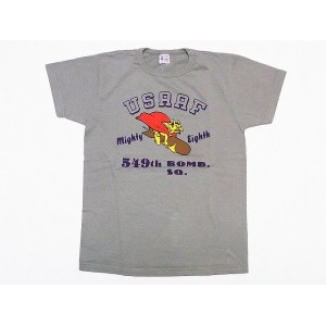Buzz Rickson's[バズリクソンズ] Tシャツ 549th BOMB. SQ. BR77035 (L.GREEN)