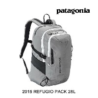 2015 PATAGONIA パタゴニア バックパック REFUGIO PACK 28L FEA FEATHER GREY