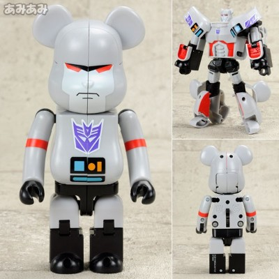 BE@RBRICK No.B@-000TF03 BE@RBRICK × TRANSFORMERS MEGATRON[メディコム・トイ]《取り寄せ※暫定》