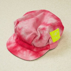 GeeWhiz ジーウィズ YELLOW LABEL 絞り染めキャップ PINK