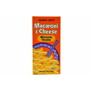 Trader Joe's トレーダージョーズ マカロニ&チーズ 7oz(198g) Macaroni & Cheese Wisconsin Cheddar