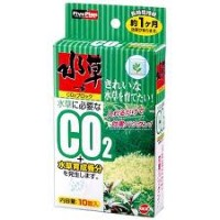 【GEX】水草一番CO2ブロック 10錠