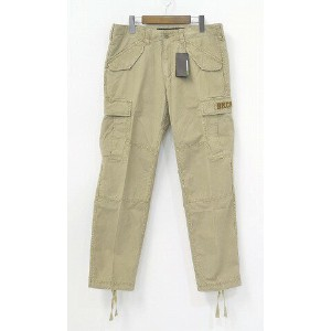 【新品】 Backchannel (バックチャンネル)CARGO PANTS カーゴパンツ 6ポケットパンツ ミリタリーパンツ BEIGE S