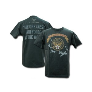"""TOYS McCOY (トイズマッコイ) MILITARY TEE SHIRT U.S.A.F."""" THE GREATEST A.F. IN THE WORLD"""" TMC1525 -15SS「P」"""