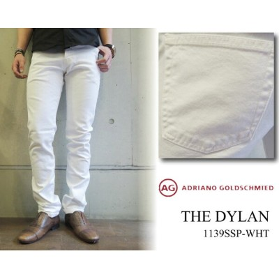 AG jeans エージージーンズAdriano Goldschmied(アドリアーノ・ゴールドシュミット)THE DYLAN 1139SSP WHT スリムスキニー ステッチなし20