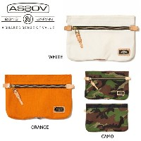 即日発送!【アッソブ/AS2OV】 ポーチ ATTACHMENT POUCH CORDURA WHITE/ORANGE/CAMO/011412-01/011412-40/011412-98 【カバン...