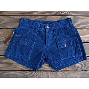 ★SALE 20%OFF★ 〈TAC別注〉Sunlight Believer×Sprout サンライト・ビリーバー Lady's 70s Summer Corduroy Shorts INDIGO...