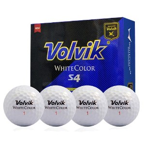Volvik 2016 White Color S4 Golf Balls【ゴルフ ボール】