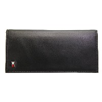 TOMMY HILFIGER/トミーヒルフィガー長財布92-5058 BLACK プレゼント/ギフト/通勤/通学