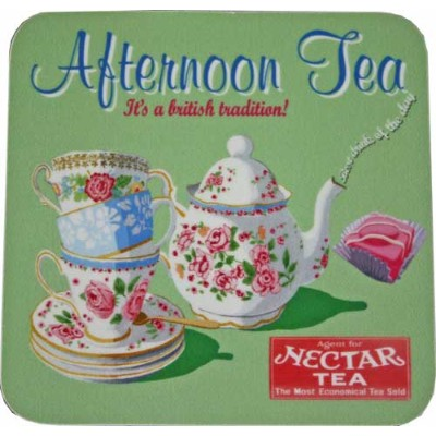 CASTLE MELAMINE Coasters コースターAfternoon Tea CWCS7