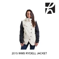 2015 HOLDEN ホールデン ジャケット WOMEN'S RYDELL JACKET BONE BLACK