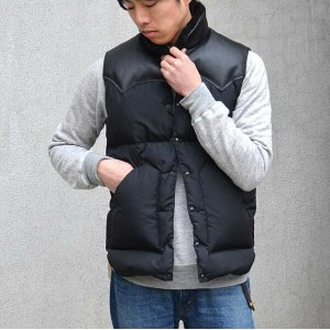 Rocky Mountain Featherbed(ロッキーマウンテンフェザーベッド)/ CHRISTY VEST -BLACK-