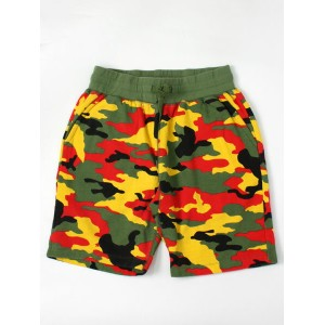 【SALE】SSUR SSUR PLUS JAMAICAN SWEATSHORT-IRIE【P151081115-IR-MULTI COLOR】