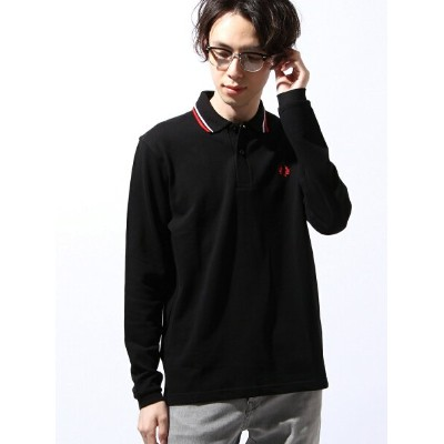 FRED PERRY (M)L/S TWIN TIPPED FRED PERRY SHI フレッドペリー カットソー【送料無料】