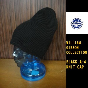 Buzz Rickson's WILLIAM GIBSON COLLECTION ブラックニットキャップBLACK A-4 KNIT CAP BR02272(バズリクソンズウィリアムギブソンコレクショ...