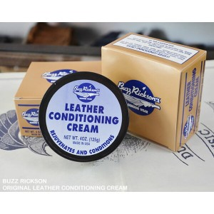 [ BUZZ RICKSON's ] ORIGINAL LEATHER CONDITIONING CREAM (オリジナルレザーコーティングクリーム)