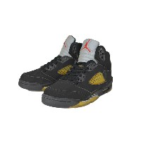 [デッドストック]NIKE [AIR JORDAN 5 RETRO] BLACK/BLACK-METALLIC SILVER