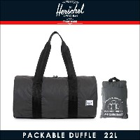 ハーシェル サプライ Herschel Supply 正規販売店 バッグ Packable Duffle - 3M Packable Day/Night 10078-00717-OS Black...