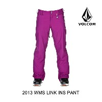 2013 VOLCOM ボルコム パンツ WOMEN'S LINK INSULATED PANT MYS