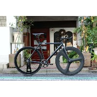 ピストバイク 完成車 8bar bikes FHAIN V1 Front DINER Carbon 3spoke Custom