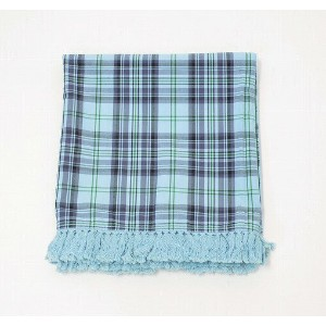 【中古】SWAGGER(スワッガー) ORIGINAL CHECK SCARF BLUE スカーフ