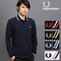 [SALE]FRED PERRY/フレッドペリー 長袖 ポロシャツ M7115[メンズ 長袖 ポロシャツ カットソー ポロ シャツ メンズポロシャツ メンズポロ おしゃれ かっこいい 紳士 秋服...