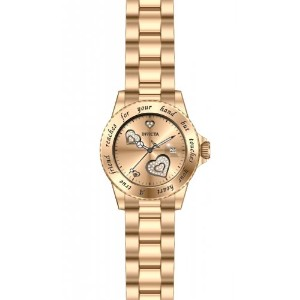 インヴィクタ インビクタ 腕時計 レディース 時計 Invicta Women's INVICTA-14735 Angel Analog Display Japanese Quartz Rose...
